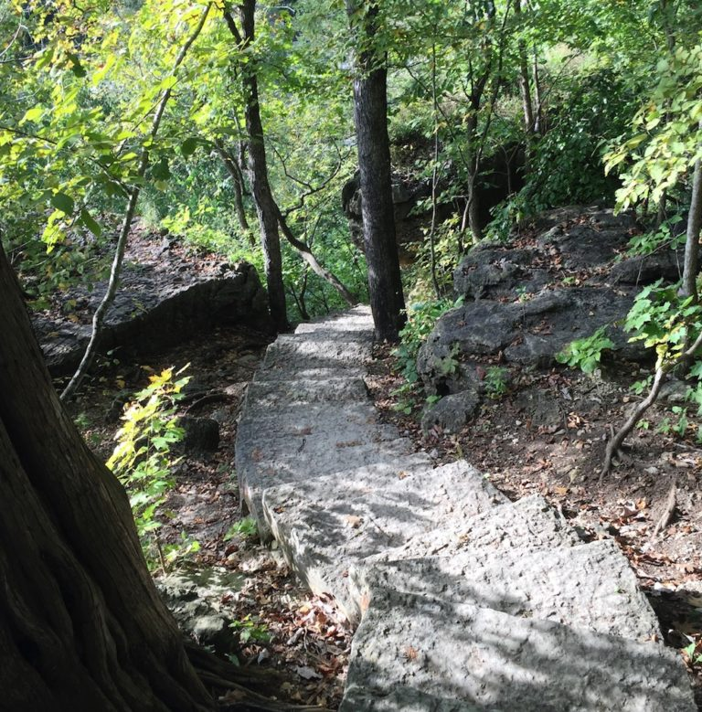 Deer Leap Trail Stairs